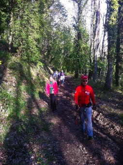 NordicWalkingLaTorreViterbo-settimanaaprilemaggio2015 (5)