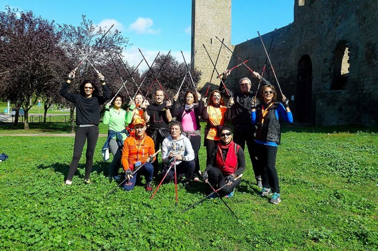 NordicWalkingLaTorreViterbo-EROICA 2015 (8)